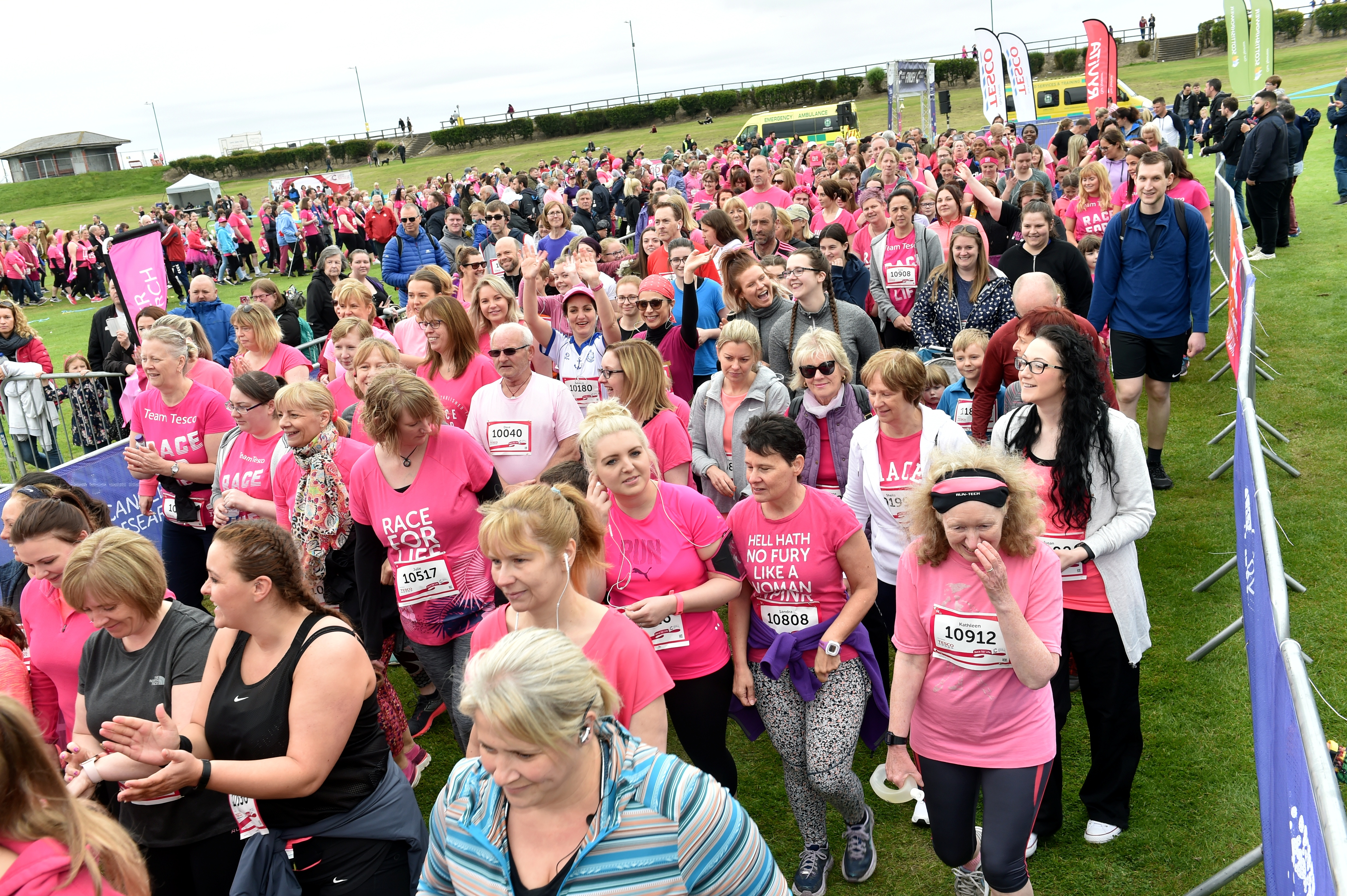 Hundreds took part in Race for Life Aberdeen 2019