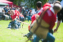 Thousands turned out at the Oldmeldrum Sports and Highland Games. (Picture: Michael Trail)