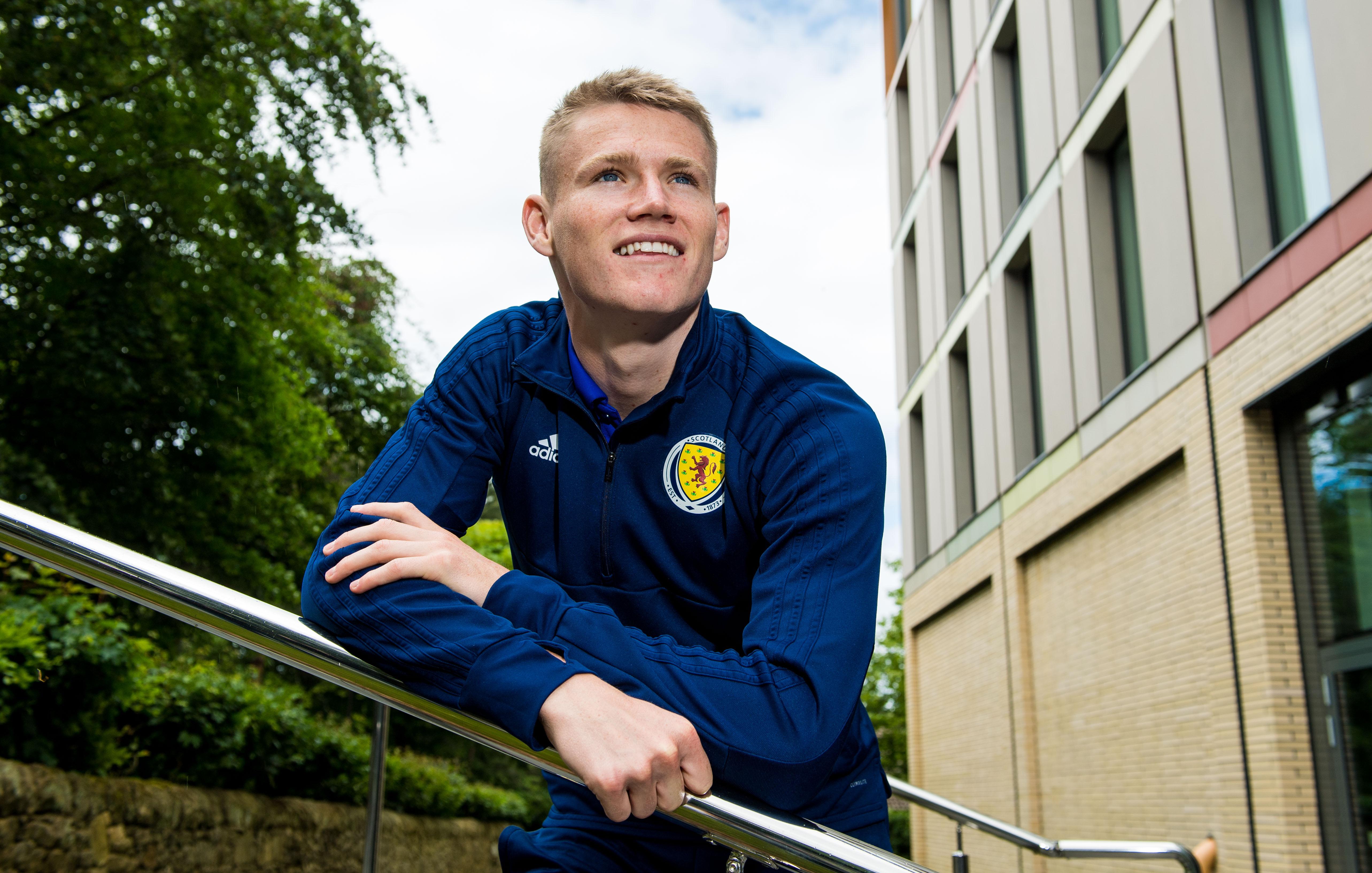 Scotland and Manchester United midfielder Scott McTominay.