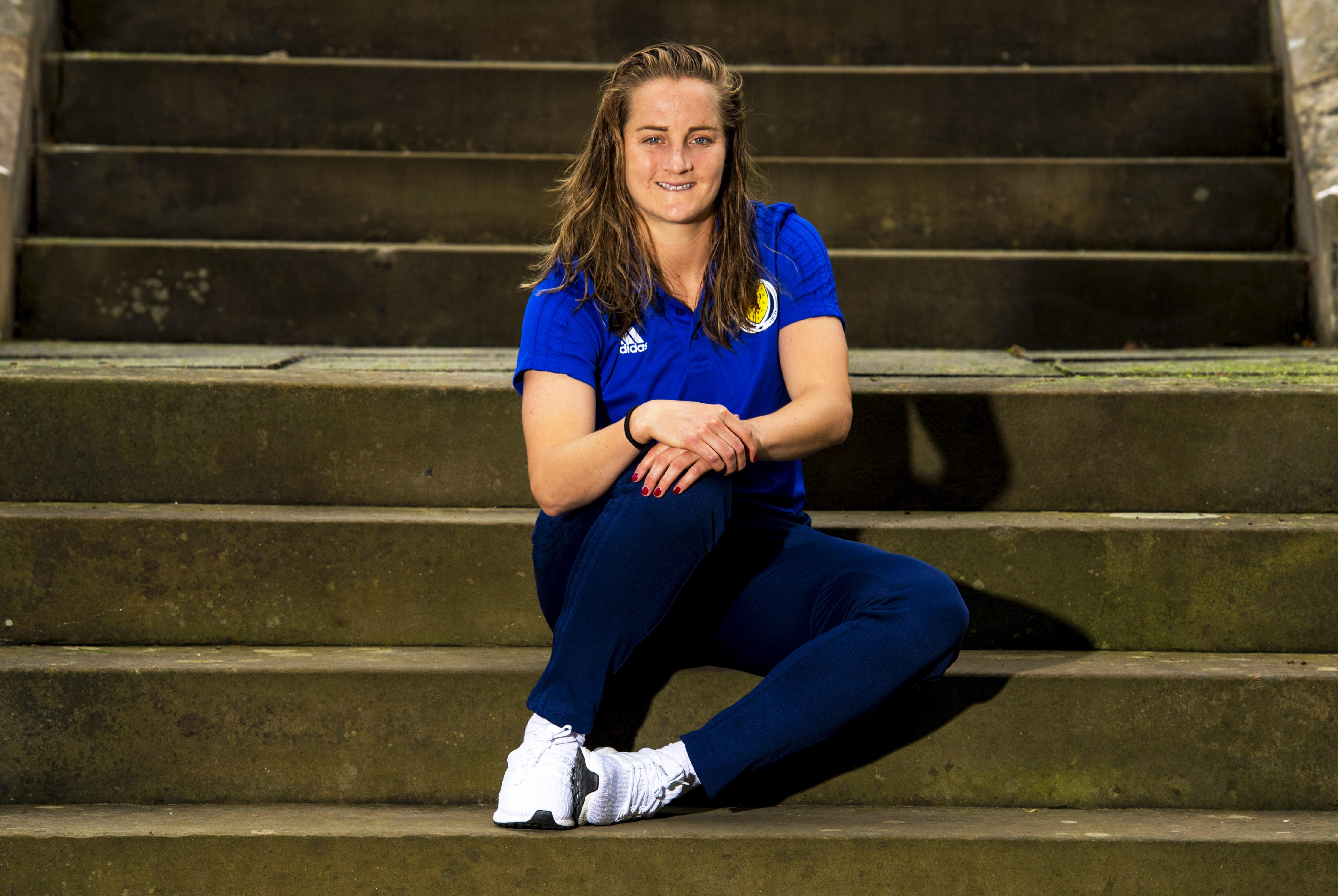Scotland defender Sophie Howard.