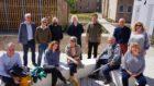 The Saltire Housing Tour judges