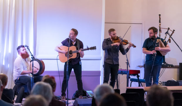 Rura performed to a large crowd at the Keith Festival in the town's Royal Hotel.
