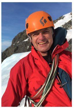 Martin Moran was climbing  Nanda Devi, India's second highest mountain.