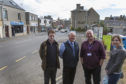 Highland councillors, from left,  Andrew Sinclair, Willie Mackay, Raymond Bremner and Nicola Sinclair.