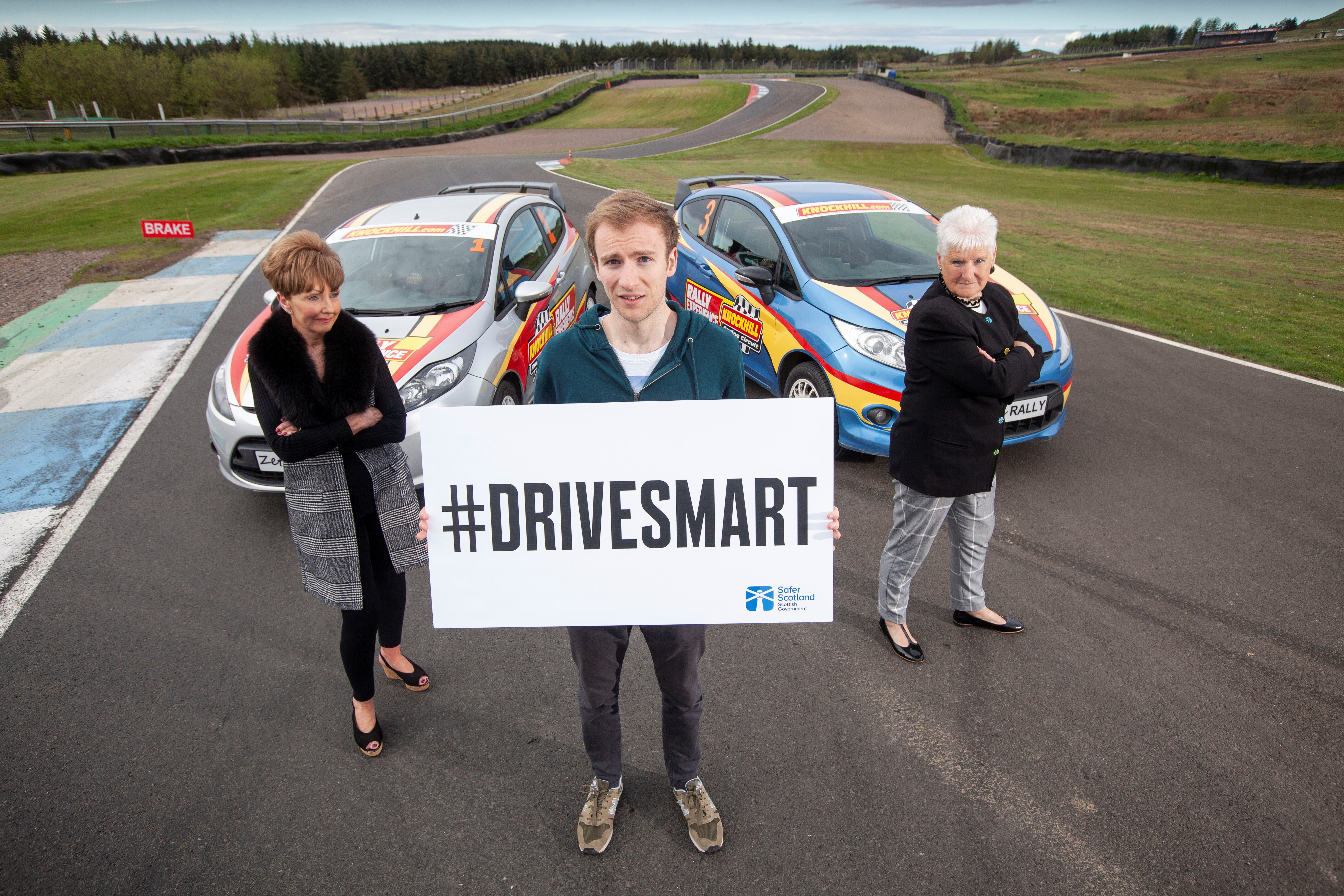 Drive like Gran's in the car has been launched as part of the #DriveSmart campaign