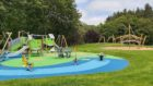 One of the pictures of the new playpark at Aden Country Park