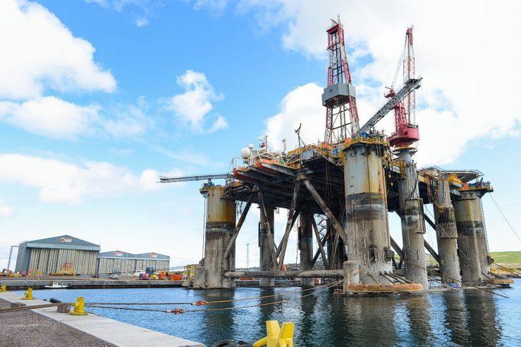 The Ocean Guardian rig.