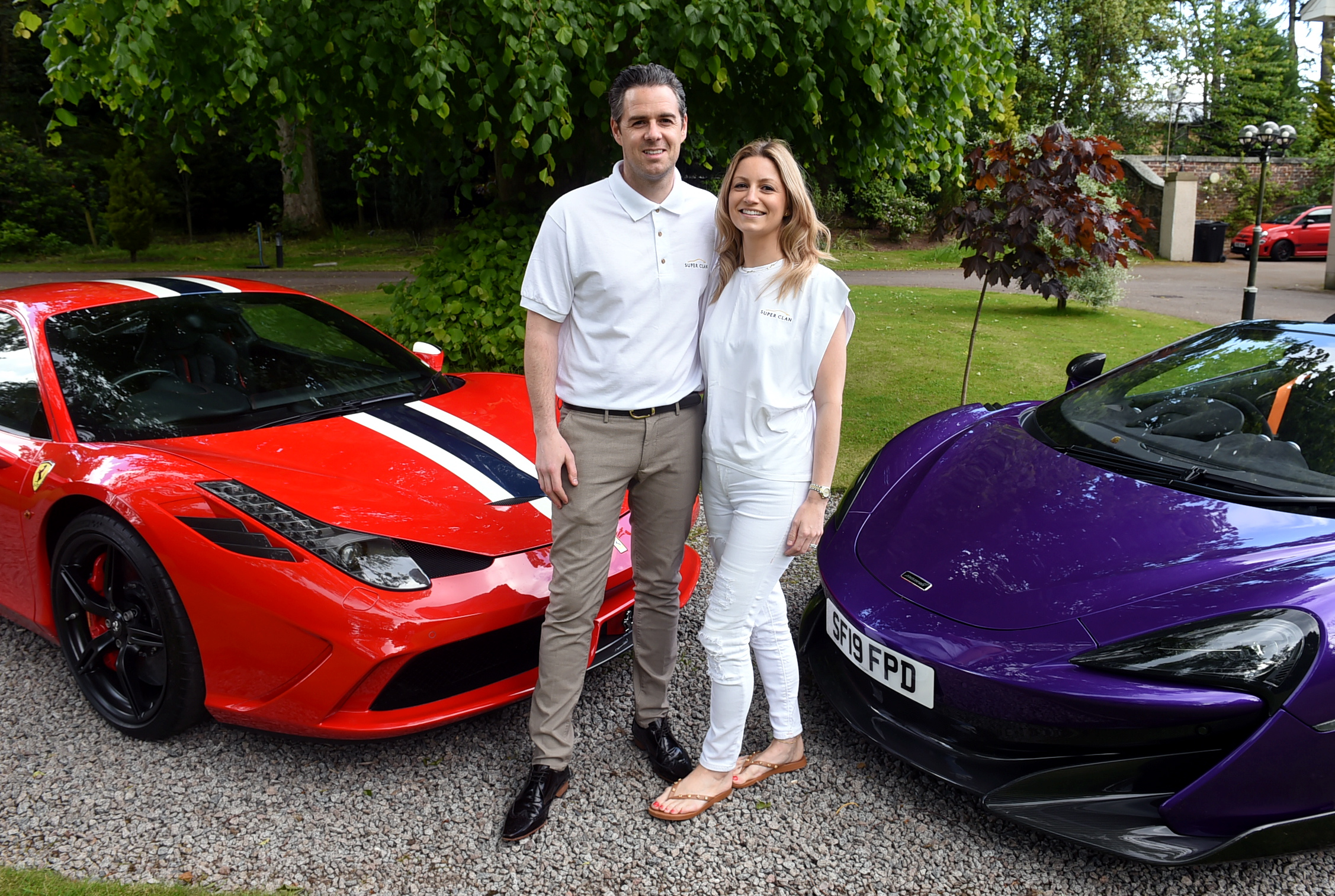 Founder Ross Gatt and Candice Gatt. Picture by Jim Irvine