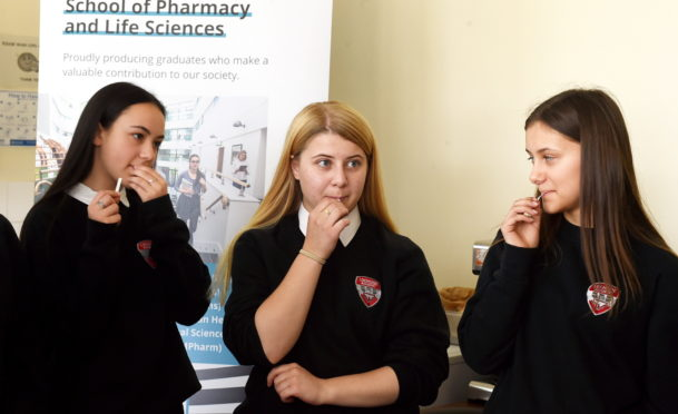 "Pupils were shown how genetics can make some people ""super-tasters"" and able to recognise bitter flavours that others can't."