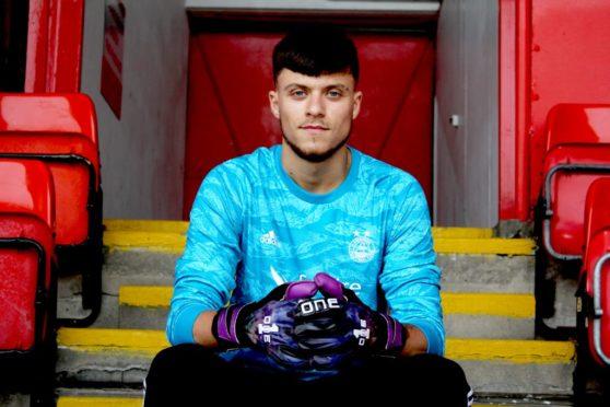 Aberdeen goalkeeper Sam Jackson. Picture: AFC Media.