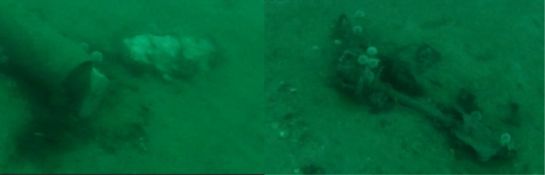 Live British Mark VIII torpedo located in Scapa Flow by Sula Diving