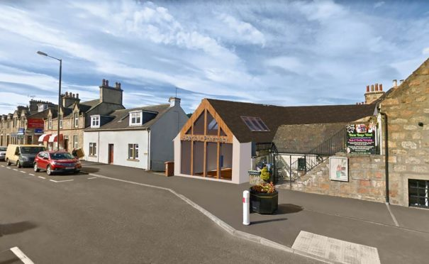 An artist's impression of how the new pharmacy will look