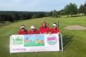 The Tee Birds, Lynn Nicol, Sarah Gordon, Loraine Richards and Lesley Nicol