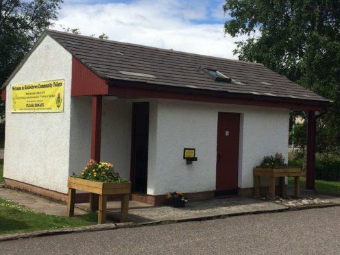 Kinlochewe community-run toilets
