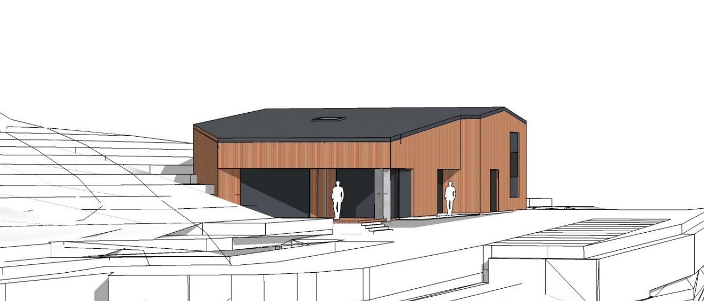 An artist's impression of the proposed Whisky Hammer site