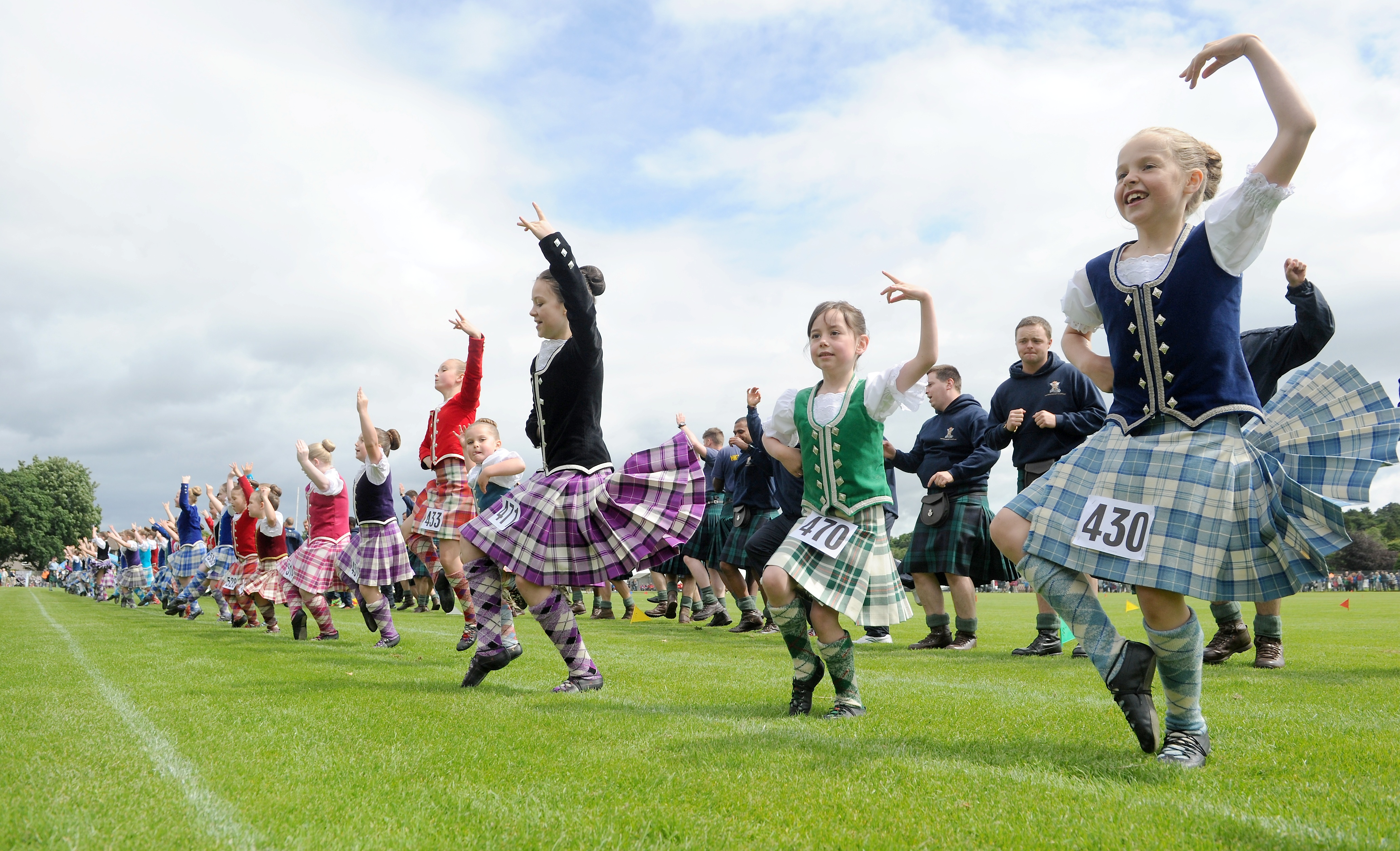 Inverness Highland Games, Bught Park. Picture by Sandy McCook