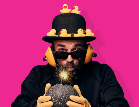 Seska will perform his show Quack Quack Bang! at this year's Aberdeen International Comedy Festival