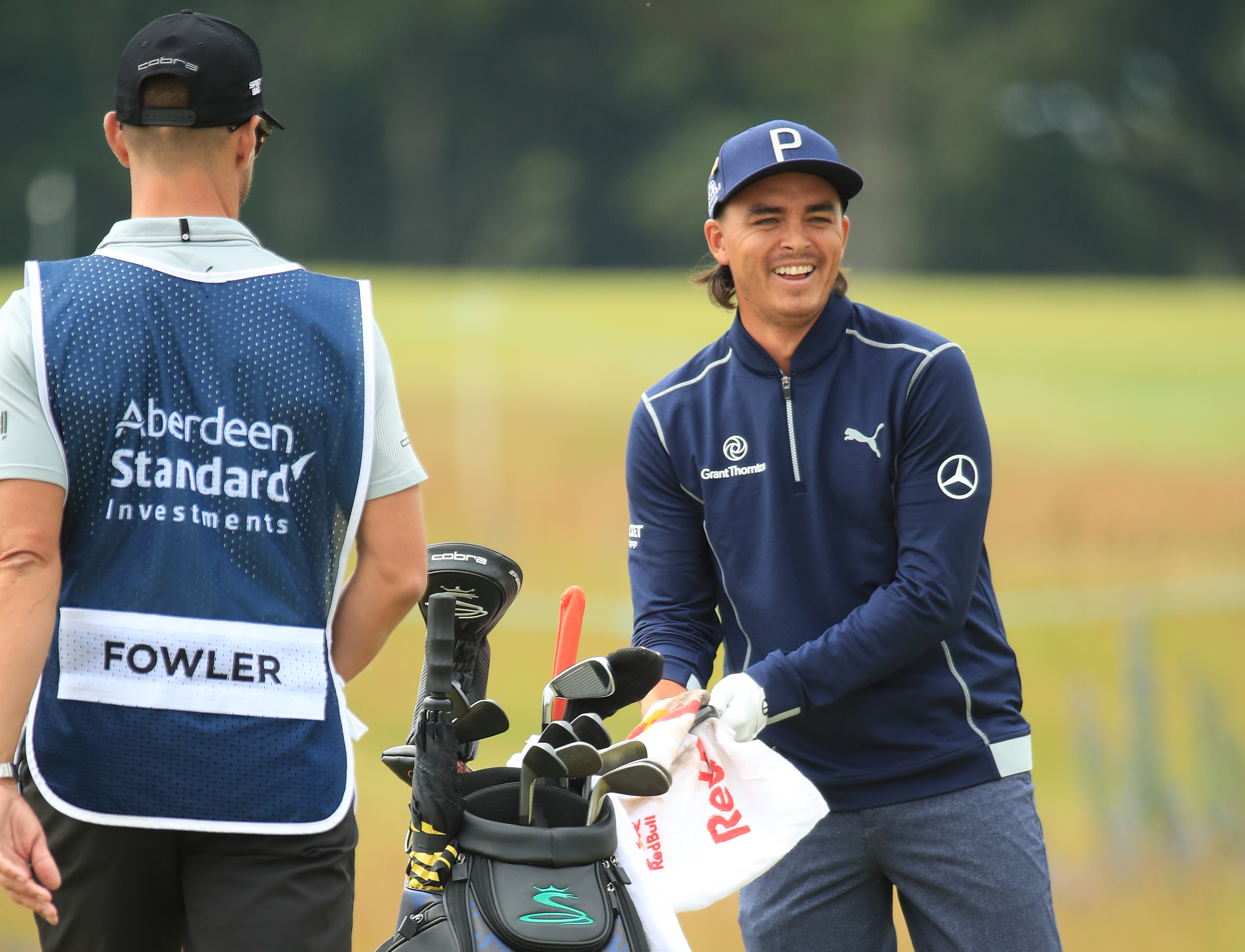 Rickie Fowler during the Scottish Open pro-am  prior to the start of the Aberdeen Standard Investments Scottish Open at The Renaissance Club.