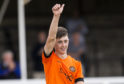 Cove Rangers have signed Dundee United midfielder Declan Glass on loan.