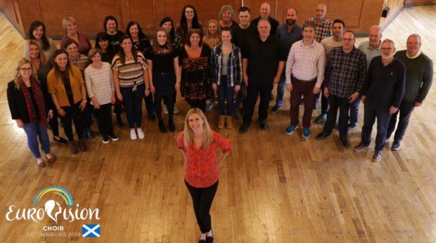 Alba Eurovision Choir conducted by Joy Dunlop