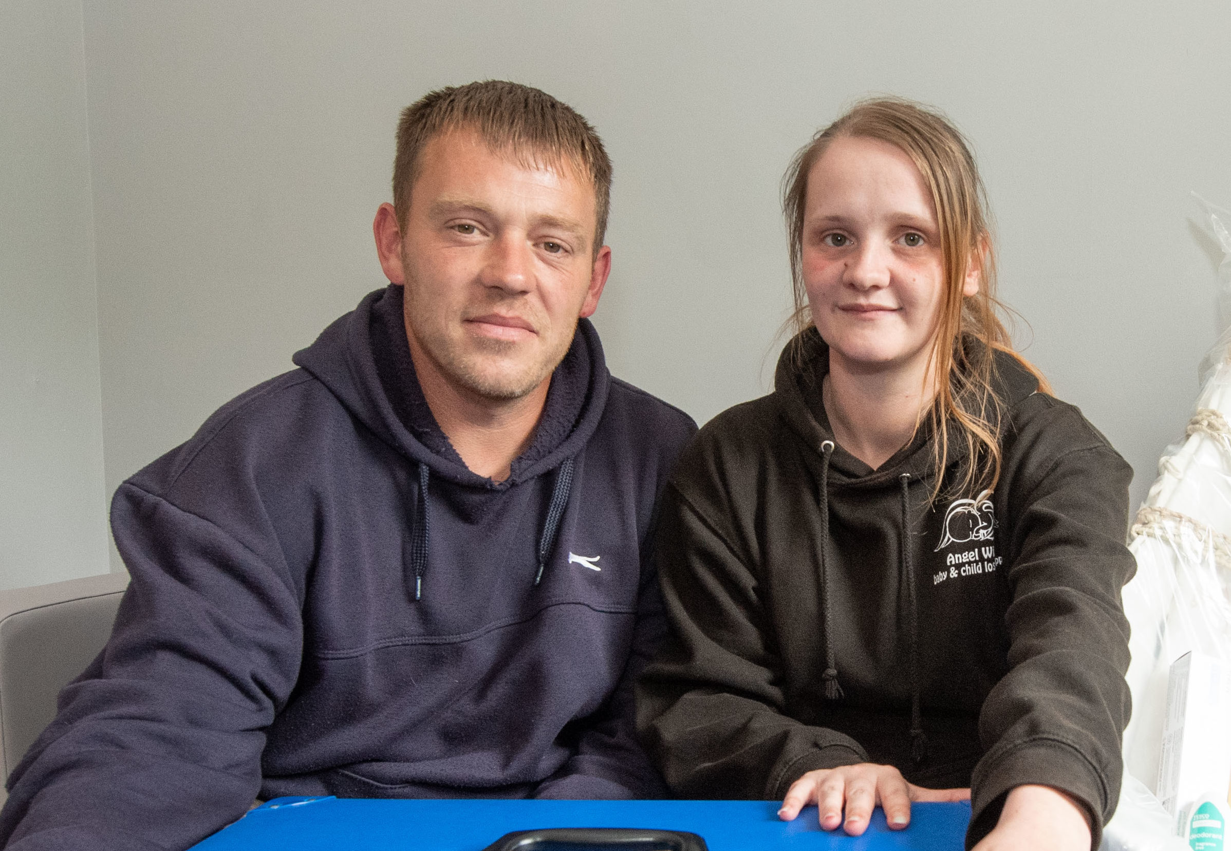 Inverness couple Stacey Melville and Gavin McQuillen