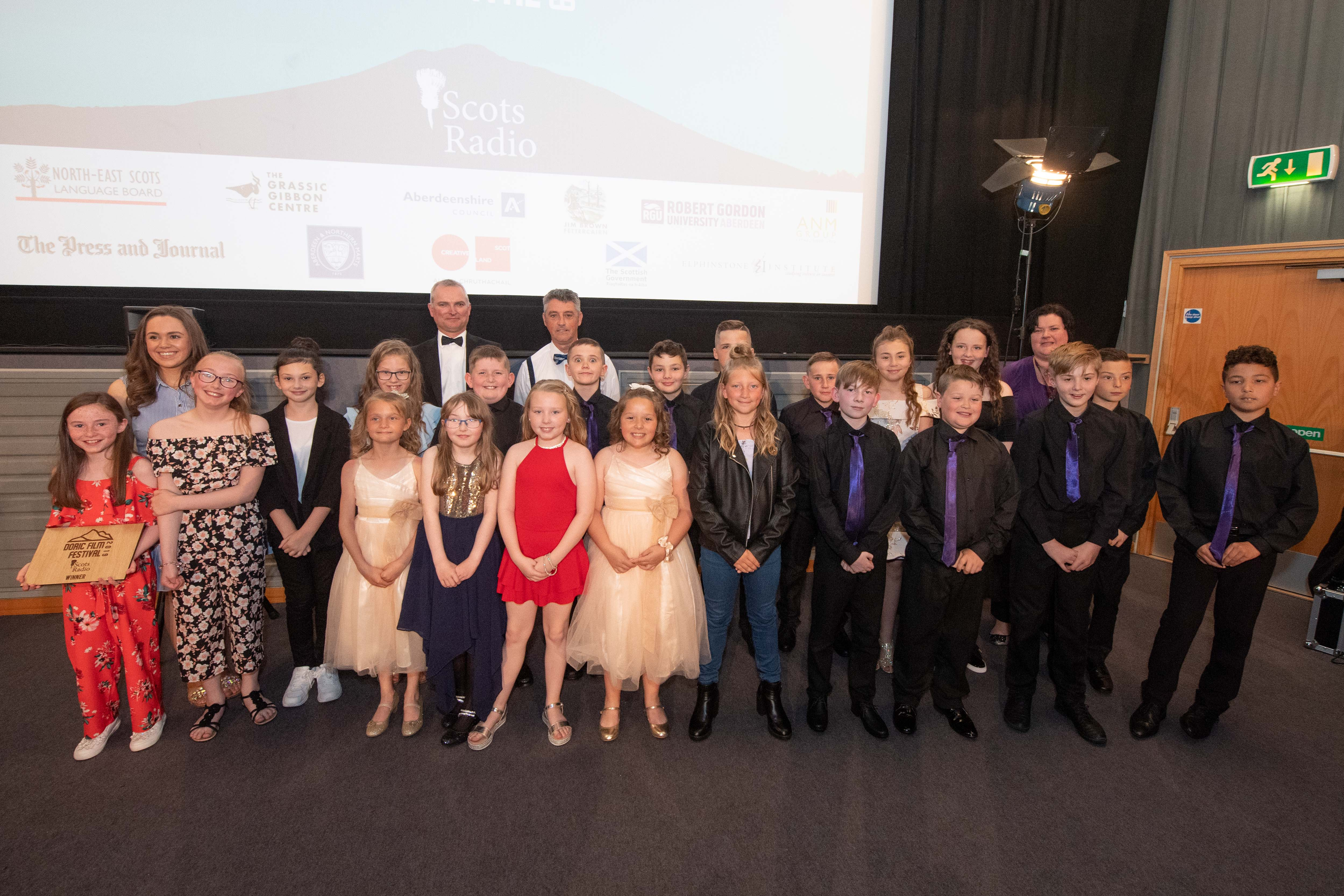 Meethill Primary school at the Doric Film Festival 2019 at Belmont Picture House.