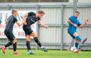 Caley Jordon in action