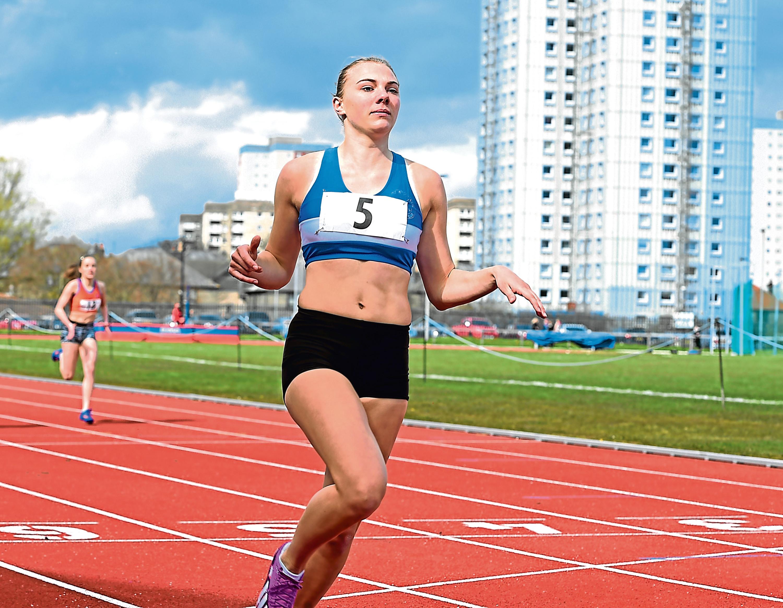 Alisha Rees from Banchory.