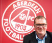 Aberdeen's commercial director Rob Wicks