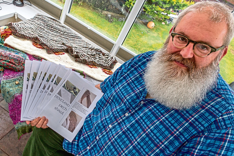John Glen, of Beardy Cheil Designs, Scrabster,