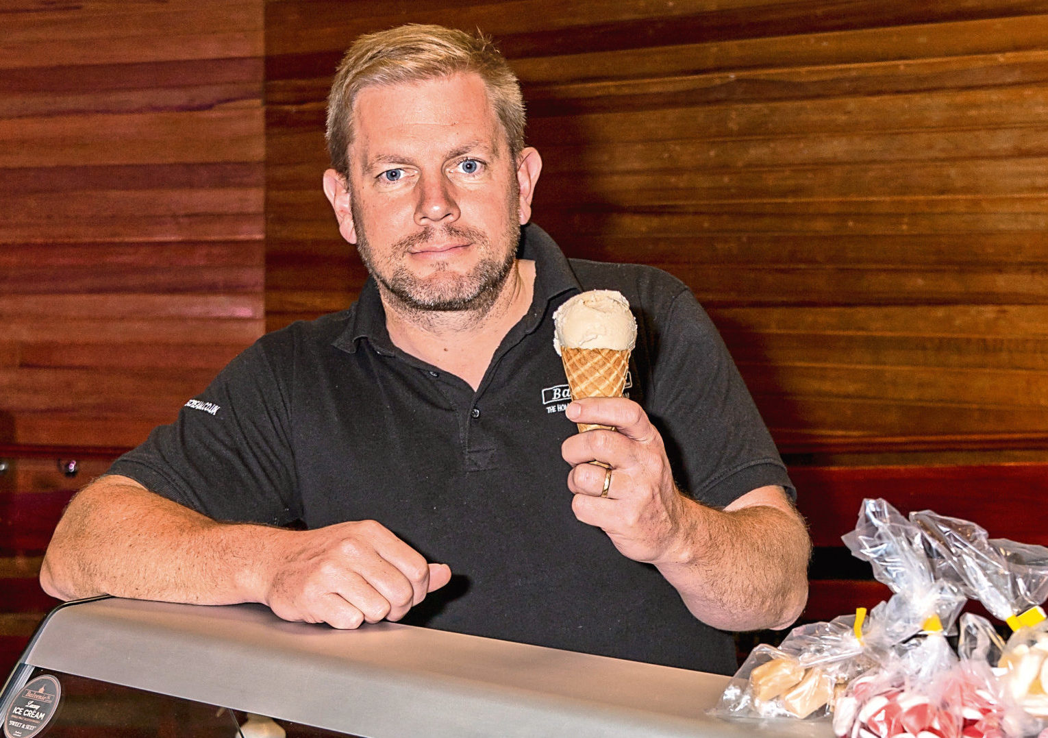 James Crean-Smith of Balvenie Street, Dufftown Ice Cream