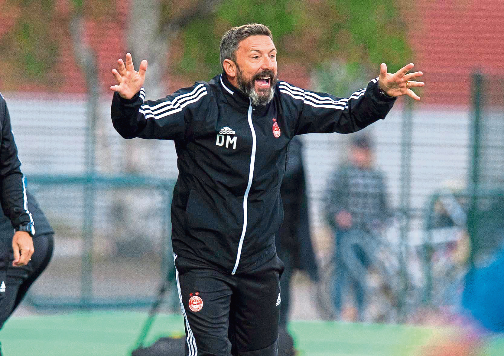 18/07/19 UEFA EUROPA LEAGUE QUALIFIER 1ST ROUND (2ND LEG) ROPS ROVANIEMI v ABERDEEN ROVANIEMEN KESKUSKENTTA - ROVAENIEMI Aberdeen manager Derek McInnes issues instructions from the sidelines.