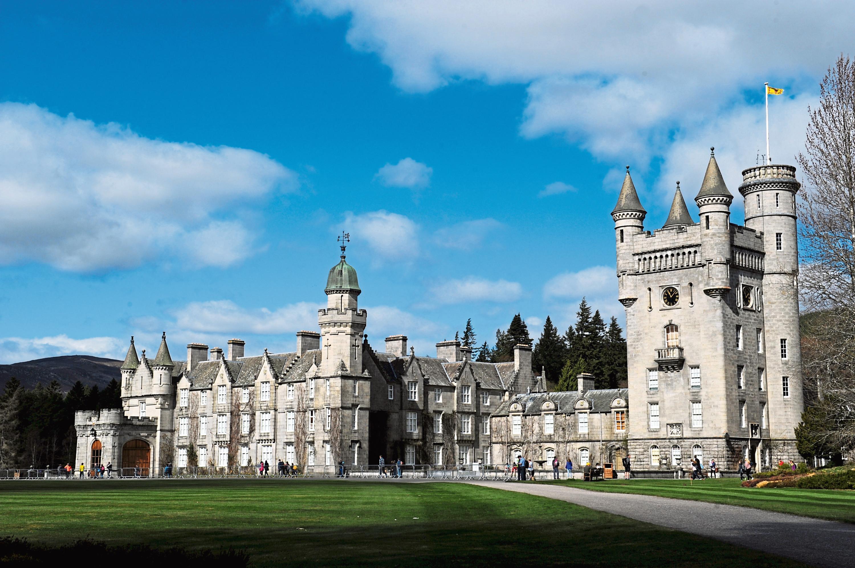 Balmoral Castle on the Royal Balmoral Estate.