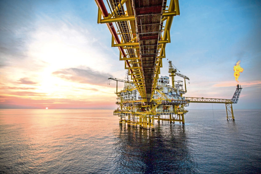 oil rig generic black gold offshore platform