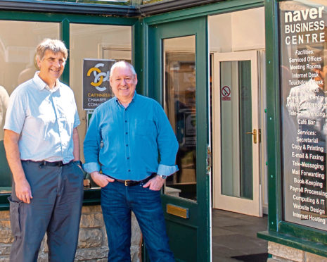 Andrew Bruce and Alan Gray have hailed the Thurso move