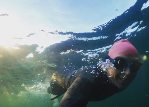 Norma MacLeod from Stornoway has launched the new venture taking thrill seekers on an adventure through the Hebrides cold waters