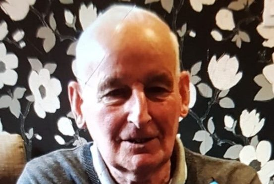 Missing Person George Hardie
