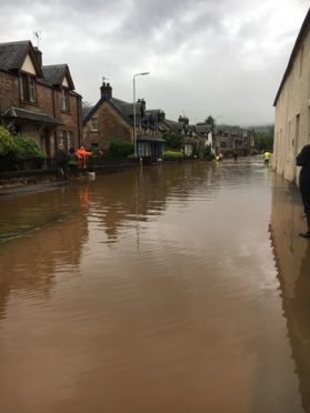 Flooding in Dingwall