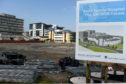 The Baird Family Hospital construction site, across from Royal Aberdeen Children's Hospital.  Picture by KENNY ELRICK 25/07/2019