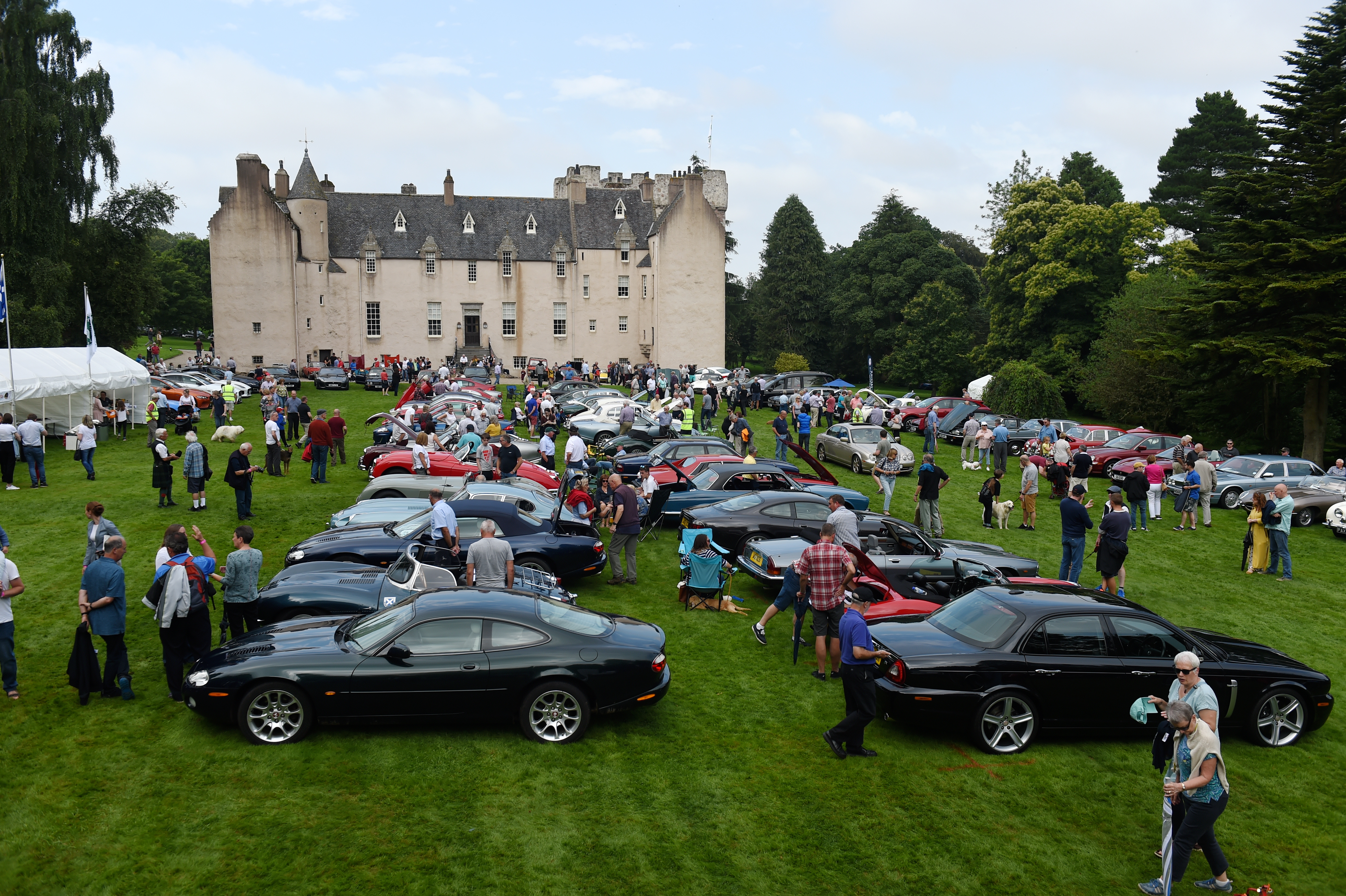 Hundreds of visitors attended