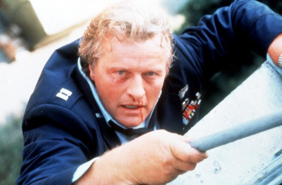 RUTGER HAUER stars.   Licenced by CHANNEL 5 BROADCASTING.  Free for editorial press and listings use in connection with the current broadcast of Channel 5 programmes only.  C5 Stills 020 7550 5583.  This image may only be reproduced with the prior written consent of Channel 5.  Not for any form of advertising, internet use or in connection with the sale of any product.