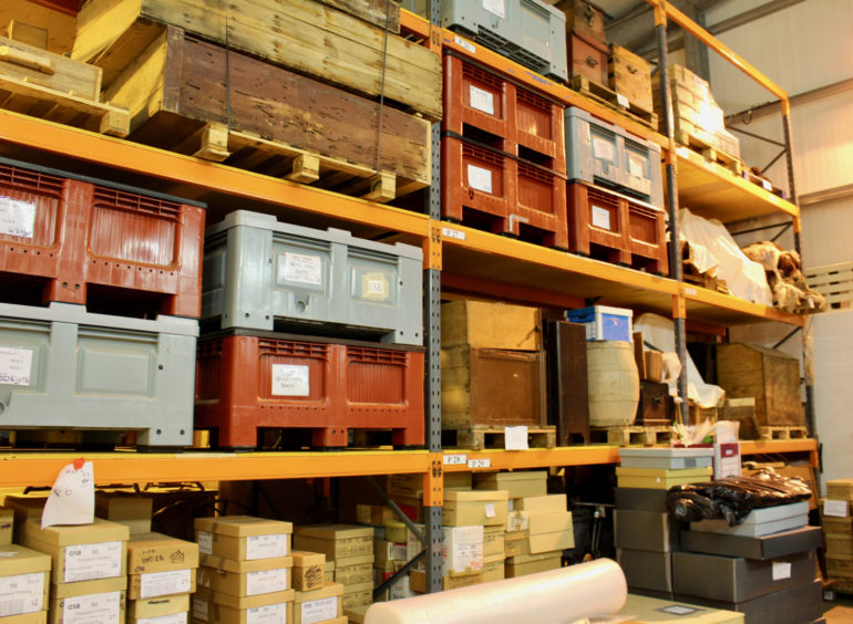 The museum store at Staney Hill has provided space since 1998 for thousands of artefacts and items that are not on display in Shetland.