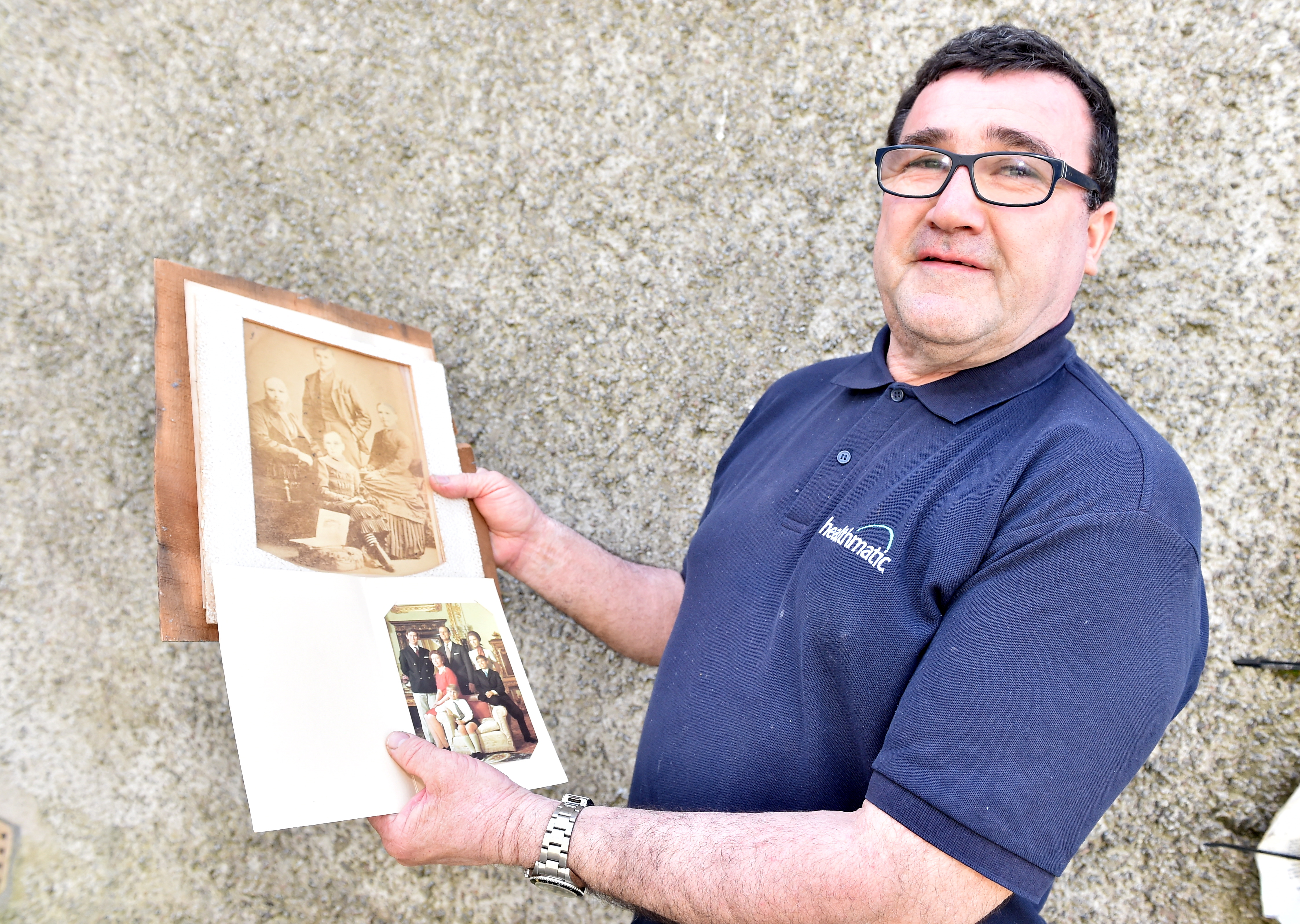 Antiques collector believes he has discovered a rare picture of Queen Victoria's servant John Brown.  Pictured is Calum Rattray.   Picture by Scott Baxter    23/07/2019
