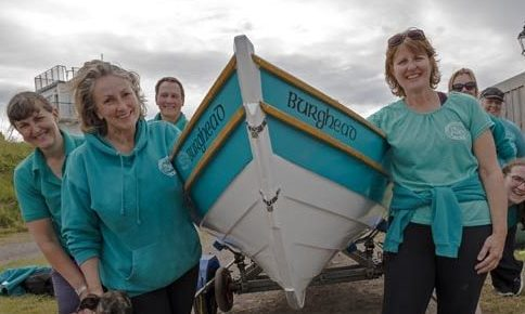 Burghead Coastal Rowing Club are thrilled to benefit from the Co-op Community Fund.