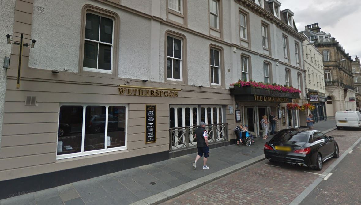 The King's Highway Wetherspoons in Inverness