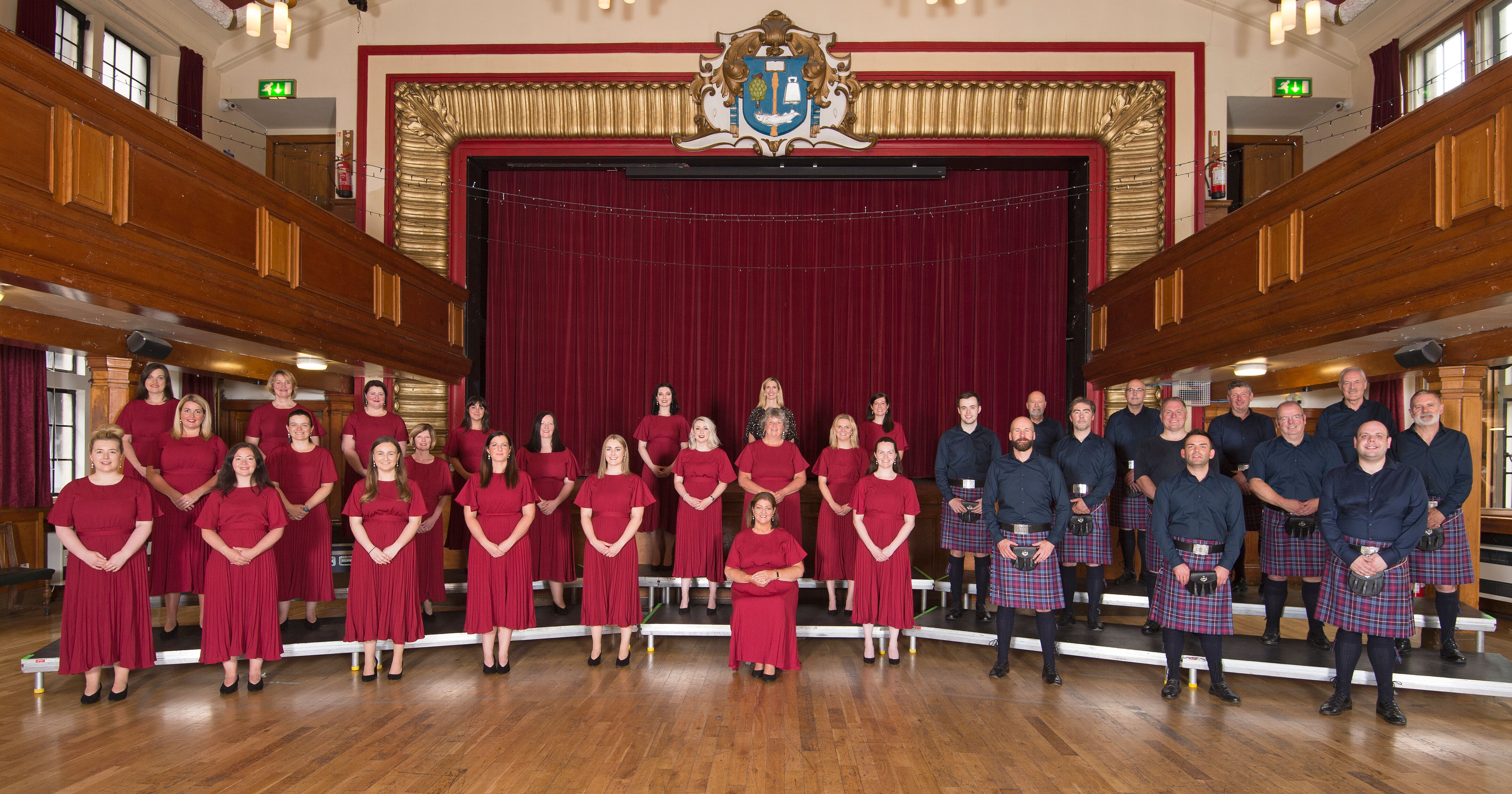 The 33-strong Choir Alba will take to the stage in Sweden on Saturday to compete for the prestigious title.