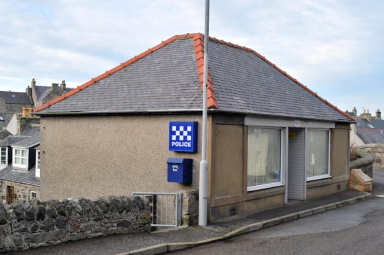 PORTSOY POLICE STATION.(BUCHAN/BROWN)