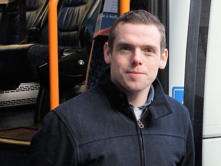 Douglas Ross received answers from Scotrail about their service