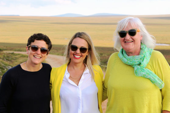 Mairi Gougeon, Minister for the Natural Environement, met with Gail Ross MSP and Frances Gunn, the chairwoman of The Flow Country World Heritage Site Working Group.