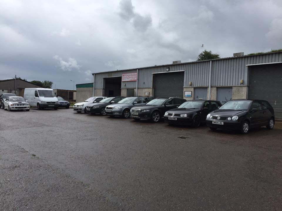C&P Garage Services in Forres.